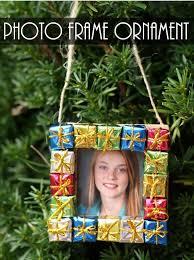 diy photo frame ornament