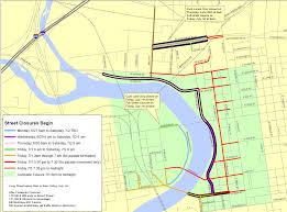 Map Of Columbus Ohio Area by Road Closures And Parking For Red White And Boom Wbns 10tv