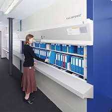 high density mobile shelving secure storage systems