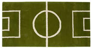 Football Field Rug For Kids Soccer Decor Ultimate Inspiration For Football Soccer Fan