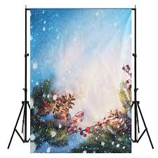 aliexpress com buy 5x7ft christmas snow vinyl photography