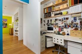 how to turn your closet into an office