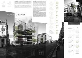 architectural layouts central bank competition winners 2013 paneles