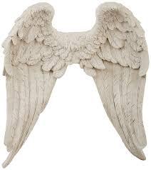 large silver angel wings wall decor wall art amazon co uk