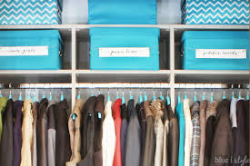 organizing with style organized coat closet makeover blue i