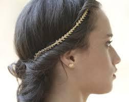 goddess headband goddess headband rear headband bridal hair