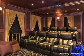 small media room design crown molding is an excellent design