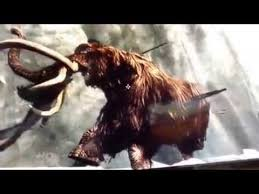 skyrim mammoth frozen ice