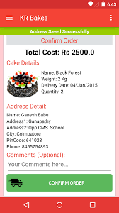cake order kr bakes m cake order android apps on play