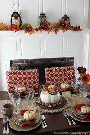 simple table decorations simple thanksgiving table decoration hoosier