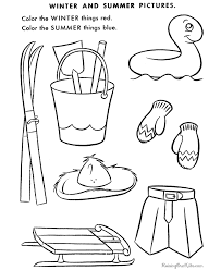 cute winter coloring pages winter activity printables