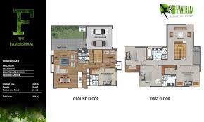 2d floor plan with furuniture landscaping desing by yantram studio