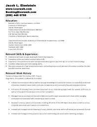 Resume For Someone With No Work Experience Sample by Examples Of Resumes For Internships Sample College Student Resume