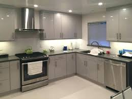 Kitchen Cabinets Chicago by European Style Kitchen With Red Kitchen Cabinets For Island