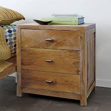 Bedside Table Ls Three Drawer Side Table Nightstand With Drawers Bedside Table 3