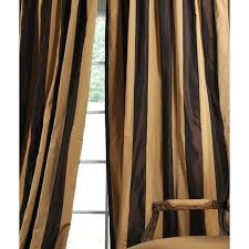 Striped Silk Fabric For Curtains Magnificent Gold Striped Curtains And Exclusive Fabrics Signature