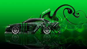 altezza car 2015 monster energy toyota altezza tuning jdm front fire plastic car