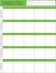 10 best lesson plans images on pinterest class schedule template