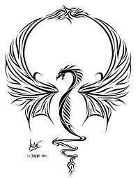 21 best cool dragon tattoo drawings images on pinterest dragon