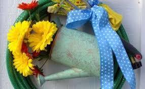 Diy Garden Crafts - a diy wreath from the garden hometalk