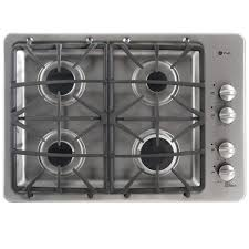 Gas Countertop Range Kitchen Cooktops Lp Convertible Gas Cooktops Cooktops The Home Depot