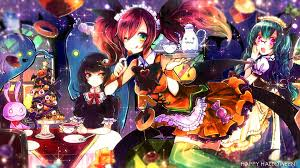 halloween background 1920x1080 anime halloween wallpapers wallpapervortex com