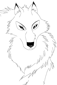 balto coloring pages image wolf lineart balto style by rurounigemini83 png studio