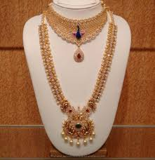 necklace sets images Bridal stone necklace sets from naj south india jewels jpg
