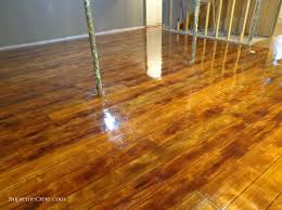 Basement Floor Stain by 193 Best Floors Images On Pinterest Decorative Concrete Stained