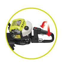 ryobi rht2660r 26cc petrol hedge trimmer with hedge sweep