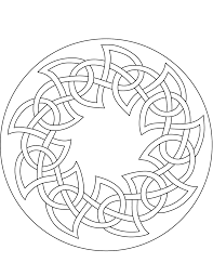 celtic mandala coloring pages printable coloringstar