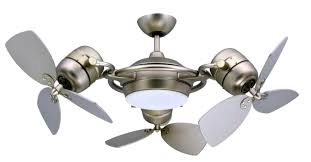 unusual solid black metal si blades ceiling fans with light