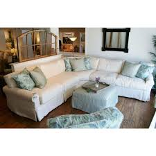 Shabby Chic Slipcovered Sofa Living Room Decoration Slipcovers For Couches And Sleeper Sofa