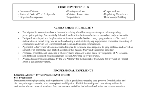 lateral attorney resme hospital director sample resume