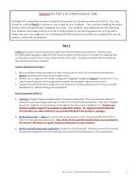 writing a composition paper grade pre assessment for quarter 4 reading informational text 10 options