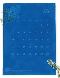 sun print cyanotype calendar 3 this could be done by printing