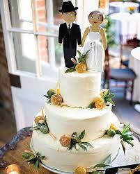 best cake toppers martha stewart weddings