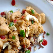 kitch sweet salty crockpot cashew chicken