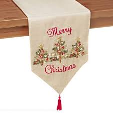 bed bath and beyond christmas table linens buy 72 christmas table runner from bed bath beyond