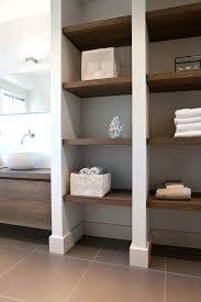 bathroom shelves decorating ideas shelf monochromatic bathroom shelf designs pictures bathroom