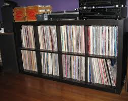 record album storage box with trendy vinyl record storage target