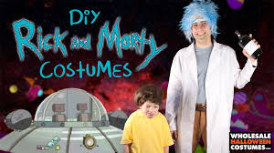Rick James Halloween Costume Diy Rick Morty Costumes Wholesale Halloween Costumes Blog