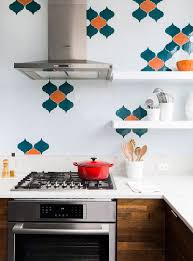 Turquoise And Orange Kitchen by For The Love Of Books And Music Spacious Revamp Of Aged Brooklyn