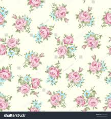 floral seamless vintage pattern shabby chic stock vector 121117915