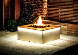 custom gas fire pit u2013 outdoor living
