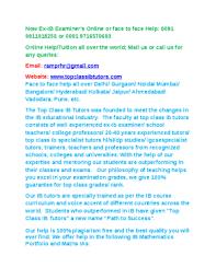 Ib business  amp  management portfolio ia extended essay write up help     DocFoc com Ib math tutor portfolio extended essay ia help delhi