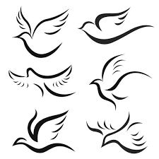exquisite dove tattoo designs along with their symbolic meanings
