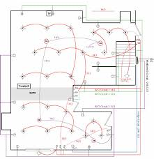 Floor Plan With Electrical Layout Wiring Diagram For House Lighting Circuit Wiring Diagram