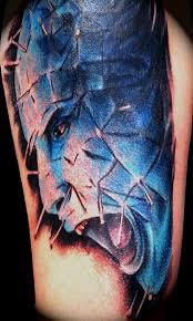 pinhead tattoo ideas