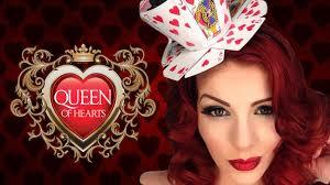 queen of hearts halloween makeup transformation tutorial youtube